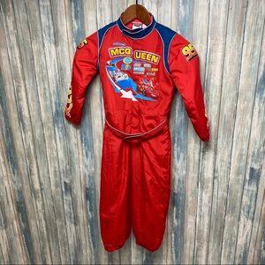 Disney Kids Lightening McQueen Costume Suit
